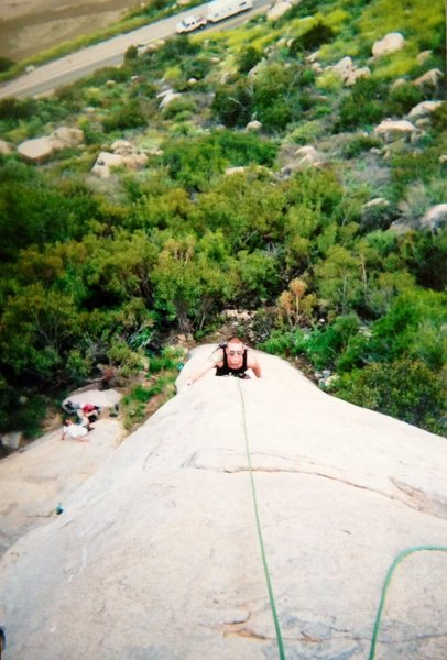 Rock Climbing Photo: Brent Bohem on The Great White Pillar!!!