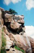 Rock Climbing Photo: Absail Le Bert!