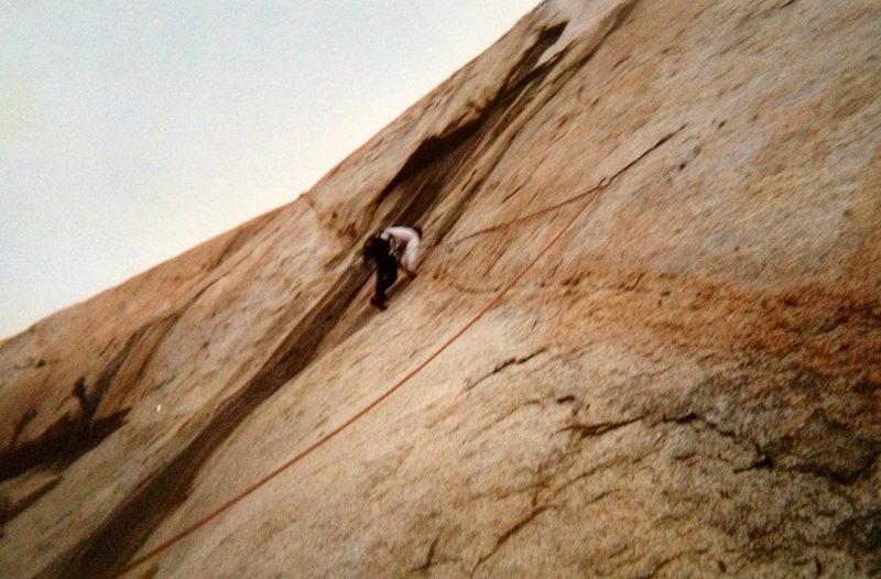 Rock Climbing Photo: Me on the Virgin in 2002! Great Climb!!!