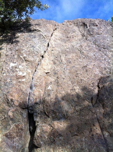 Rock Climbing Photo: butt crack