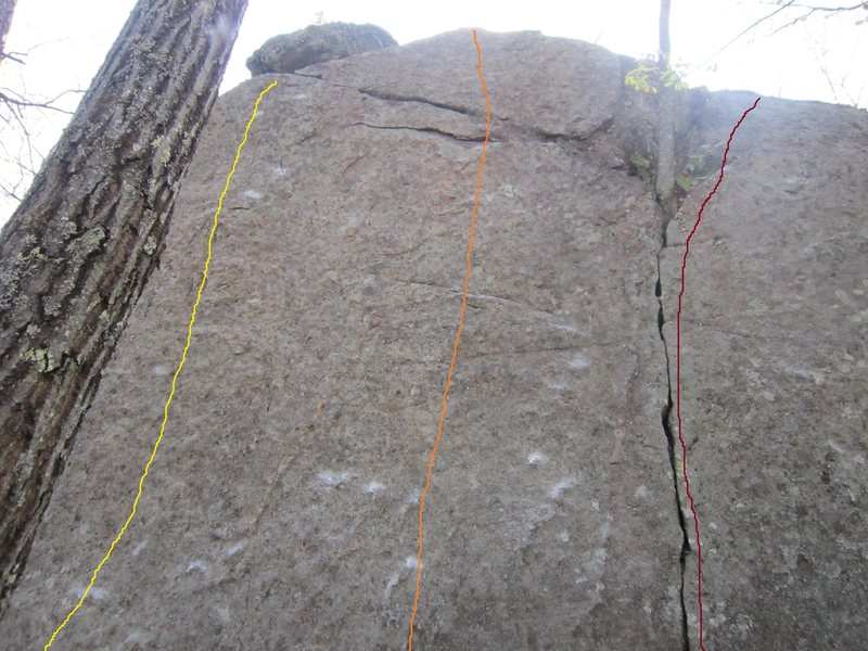 Rock Climbing Photo: In the Moment (Orange) 5.10+. Delicate moves off t...