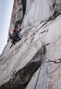 Rock Climbing Photo: Awesome P3 dihedral