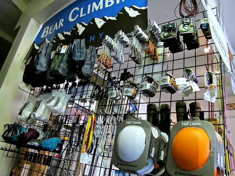 Little new climbing store in Big Bear.