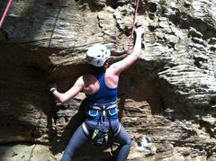 Rock Climbing Photo: RRG; Happy Trails, 5.10d