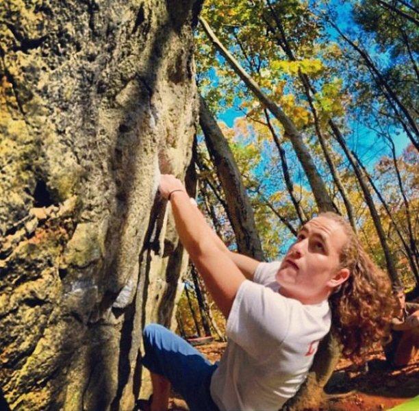 Rock Climbing Photo: Macks at The Woods [shot: jesseszu]