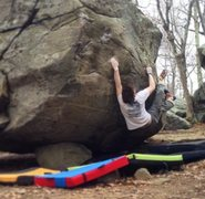 Rock Climbing Photo: The send go of Hats Off - dialing in that opening ...