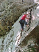 Rock Climbing Photo: Rainy morning, turned out better less the rubber-
