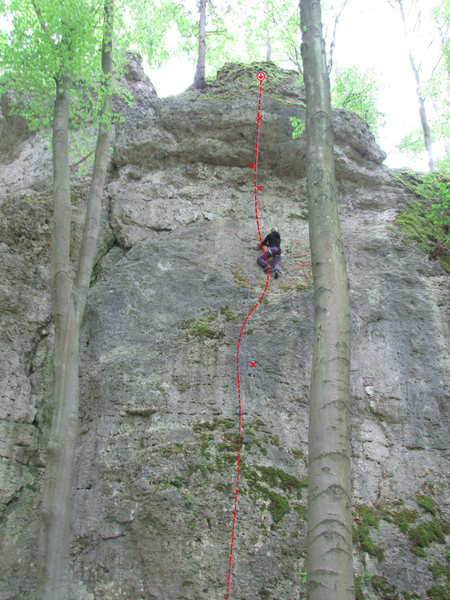 Rock Climbing Photo: Flop
