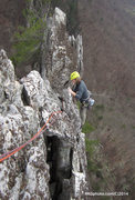 Rock Climbing Photo: Top of West Pole