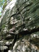 Rock Climbing Photo: Start of P38