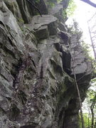 Rock Climbing Photo: Looking up at Wall of Voodoo and Climb With a View...
