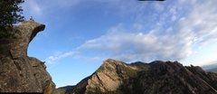Rock Climbing Photo: Tony B. enjoying yet another morning scramble.