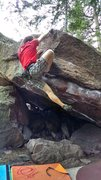 Rock Climbing Photo: Very fun problem, definitely worth your attention.
