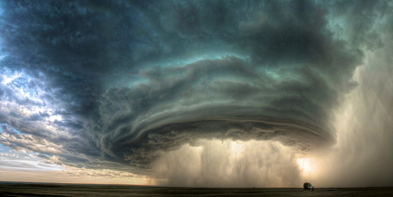 Rock Climbing Photo: A Supercell.