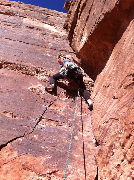 Rock Climbing Photo: Valentines Day at Red Rocks