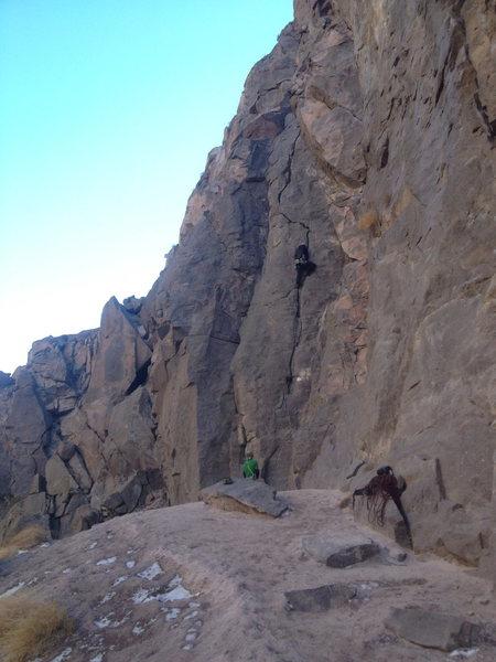 Rock Climbing Photo: Owens River Gorge