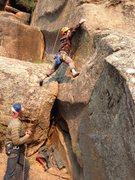 "Rock Climbing Photo: Jake on the ""Variation Start"" (Probably ..."