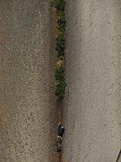 Rock Climbing Photo: cooper on the FA of pitch 2 photo by Austin Siadak