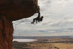 Rock Climbing Photo: I mighta posed a little bit. Does that make me a p...