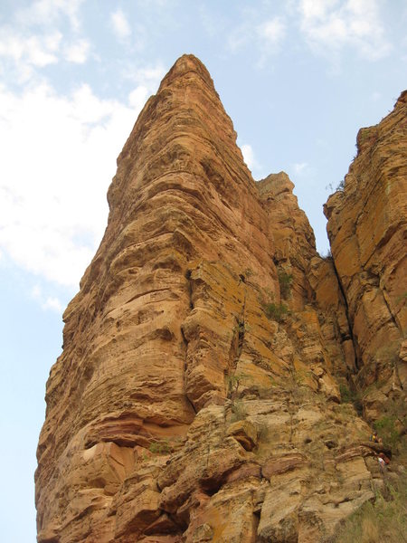 Rock Climbing Photo: The Smaller Abuna Yemata Tower!