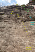 Rock Climbing Photo: Steep stuff