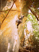 "Rock Climbing Photo: ""Especialidade da Casa"" 5.12b"