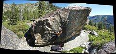 Rock Climbing Photo: Panaoramic shot