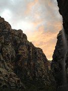 Rock Climbing Photo: Waterfall 7/28/13. Icebox Canyon