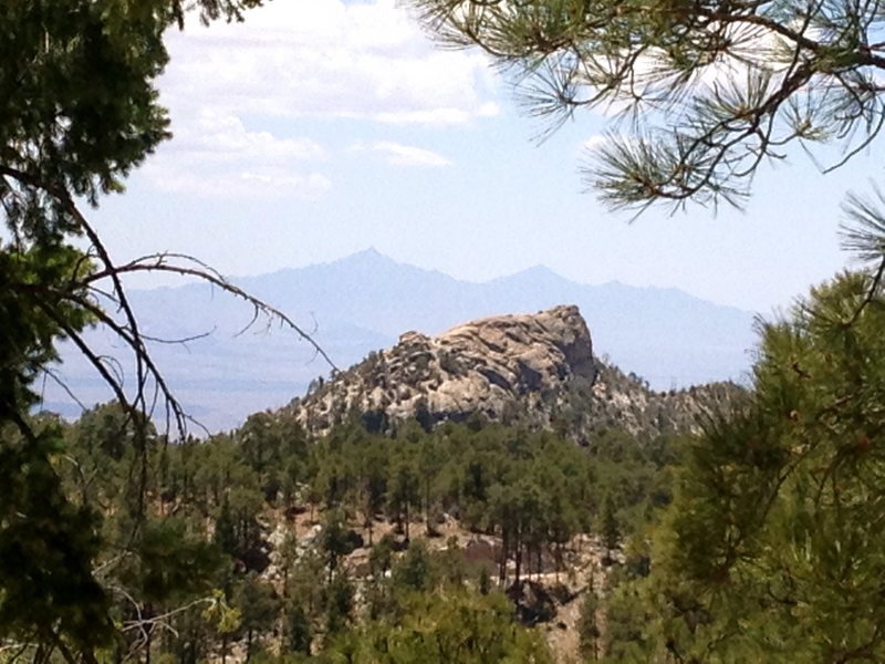 Rock Climbing Photo: Lizard Rock from Barnum Rock parking area