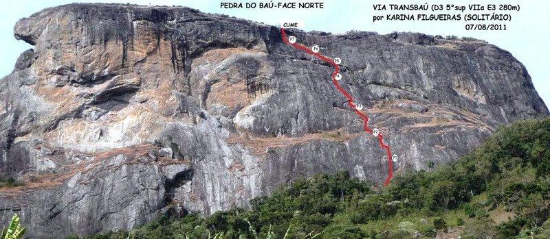 &quot;Transbau&quot; - Pedra do Baú<br> São Bento do Sapucaí - SP