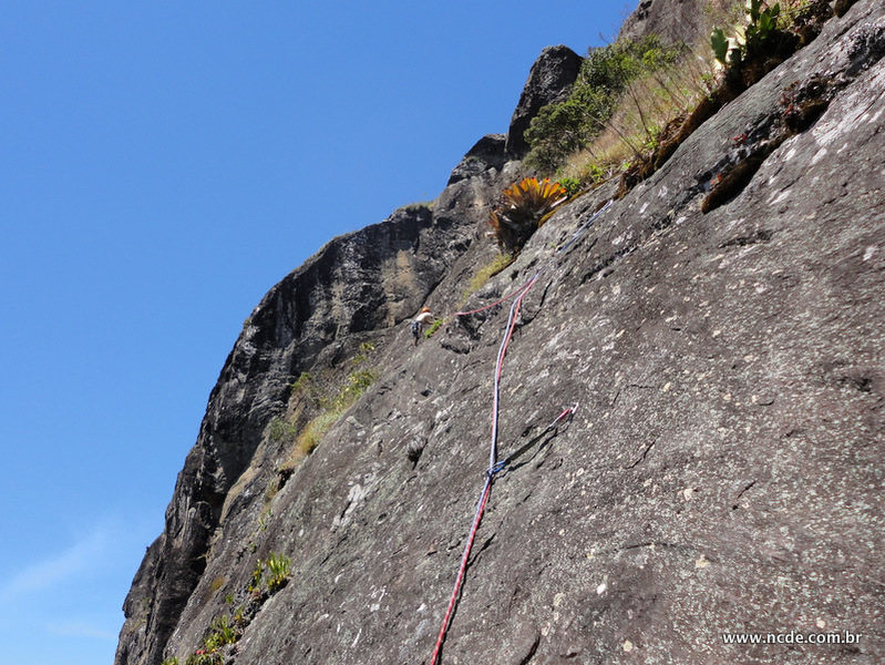 Rock Climbing Photo: Final pitches