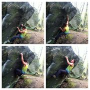 Rock Climbing Photo: from left to right top to bottom