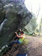 Rock Climbing Photo: The start, I used a little different holds then sh...