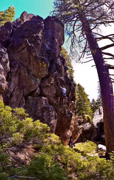 Rock Climbing Photo: Una-Bomber.