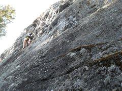Rock Climbing Photo: mount shana climbing