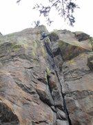 Rock Climbing Photo: The grand course