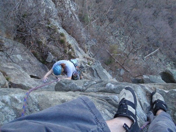 Rock Climbing Photo: Random example i found on my computer of me top be...