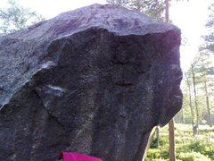 Rock Climbing Photo: one of countless nice granite blocks with establis...