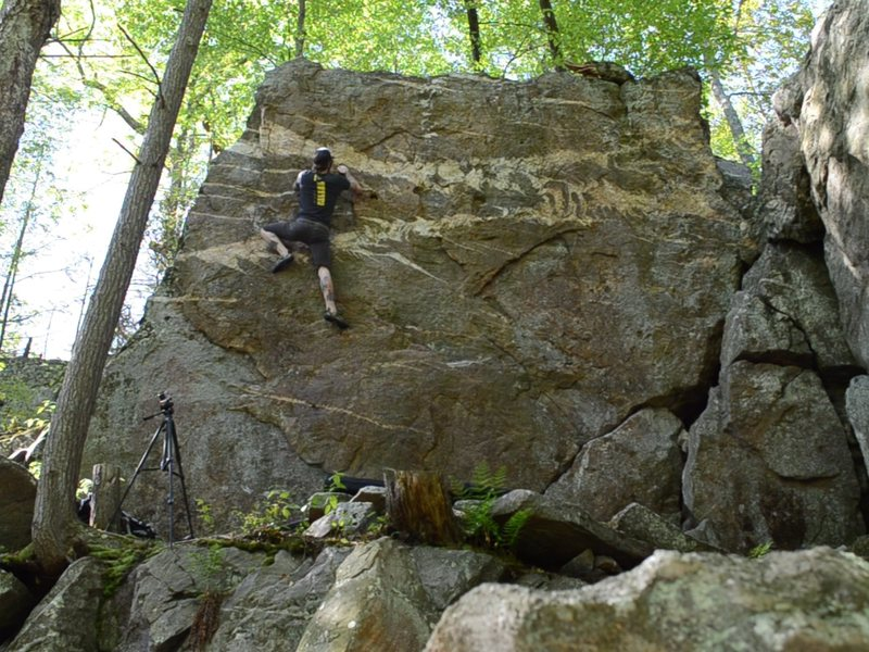 Rock Climbing Photo: Guardian of the Universe