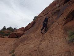 Rock Climbing Photo: drake starting up