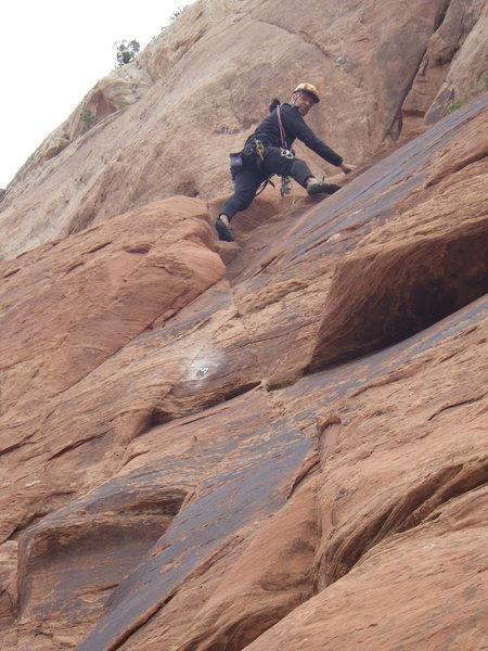 Rock Climbing Photo: in the corner