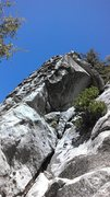 Rock Climbing Photo: This is one of the first cliffs you come to, there...