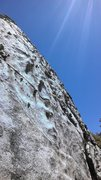Rock Climbing Photo: Another very featured face, there's a few bolts ne...
