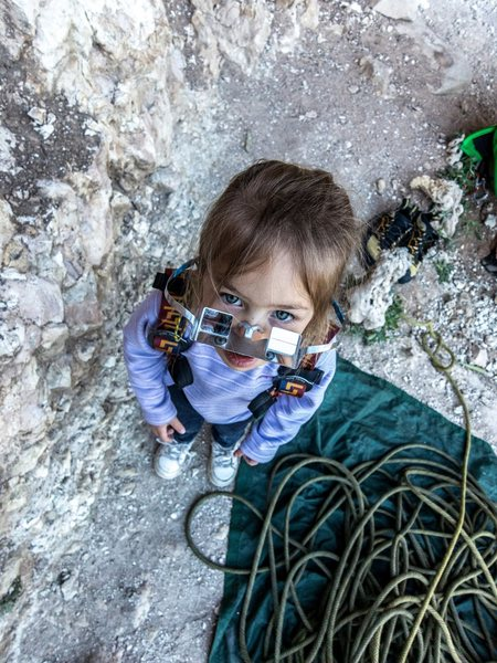 Kids make awesome climbing partners. Neil K. photo