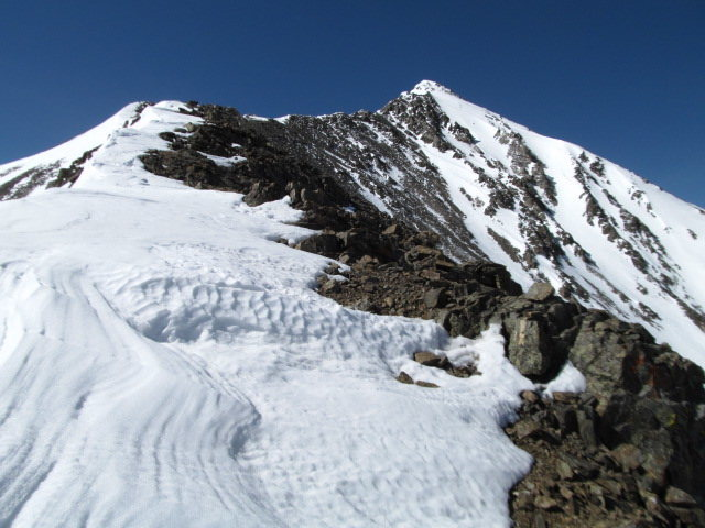 Emperor Face and the upper part of Kelso Ridge.