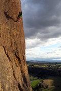 Rock Climbing Photo: Rapping off