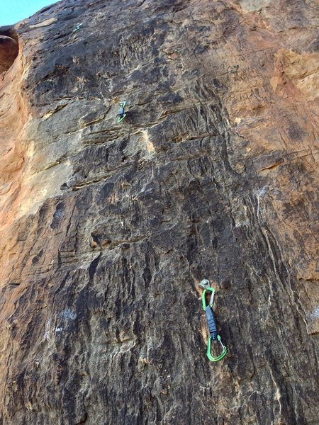 Rock Climbing Photo: Crimp fest!
