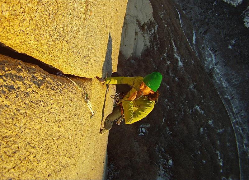 Rock Climbing Photo: Mexican crack