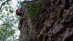 Rock Climbing Photo: Paul B climbing Orion