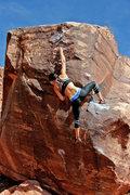Rock Climbing Photo: Natalie Duran on Vino Rojo